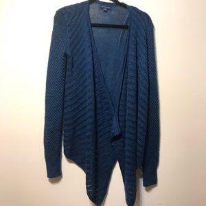 AE blue cardigan